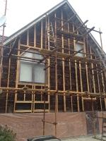 Утепление фасада деревянного дома_1